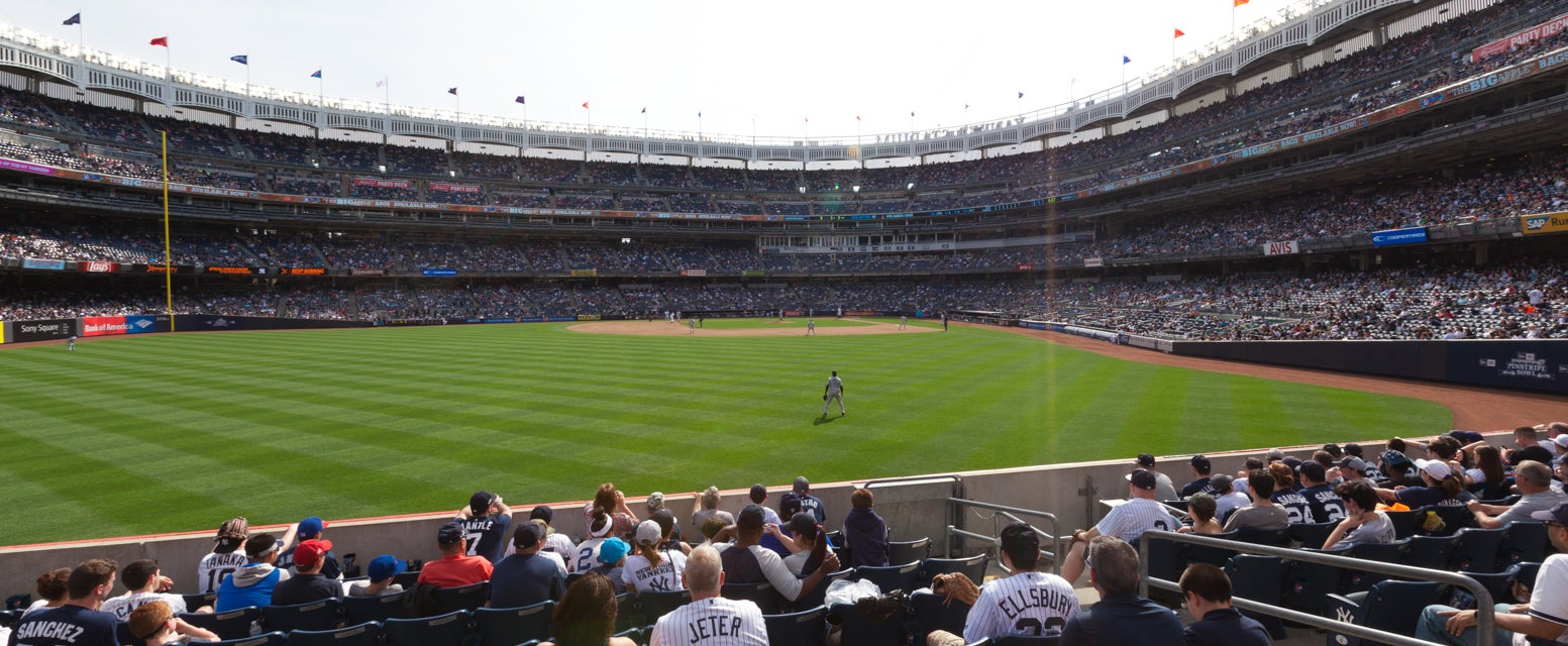 Seat view from Field Outfield