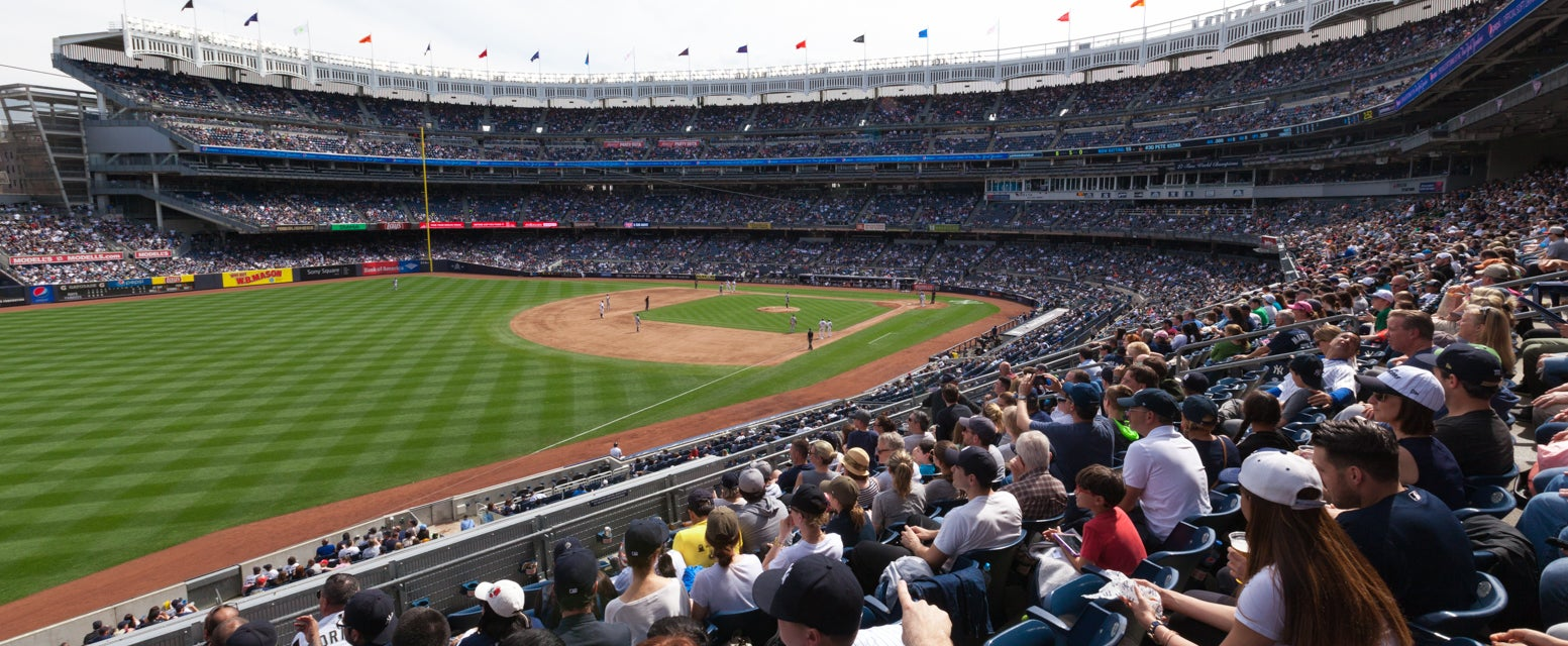 Seat view from Main Outfield