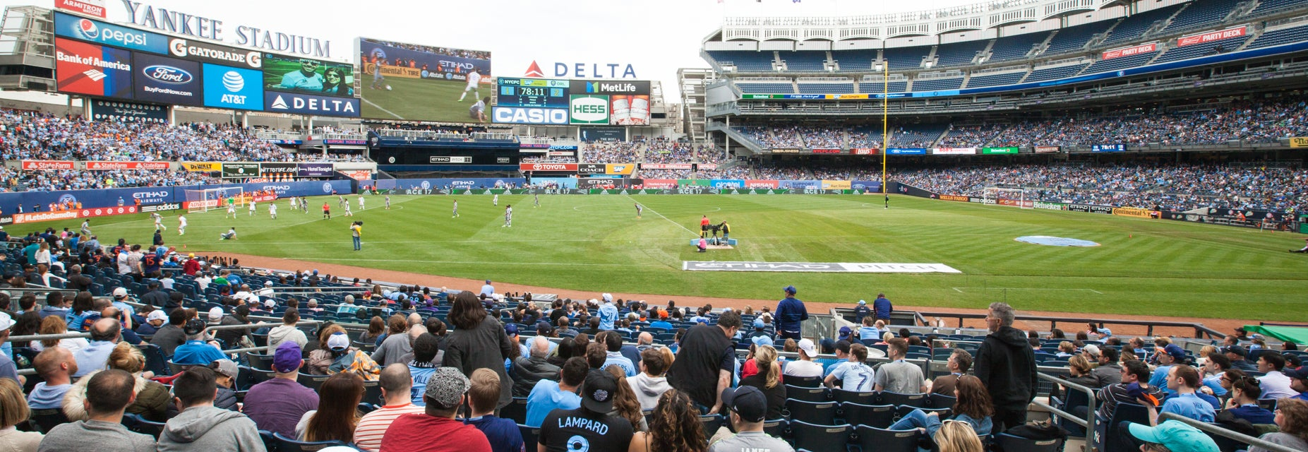 Seat view from Field