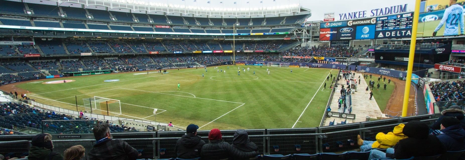 Seat view from Main