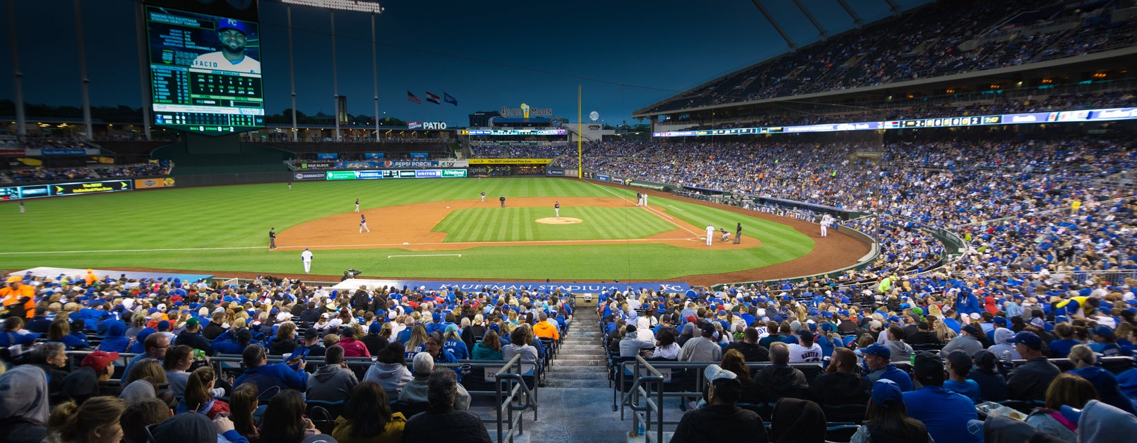 Ticket View From Dugout Plaza 221 At Kauffman Stadium