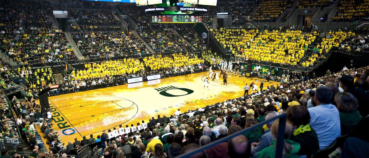 Oregon Basketball Tickets