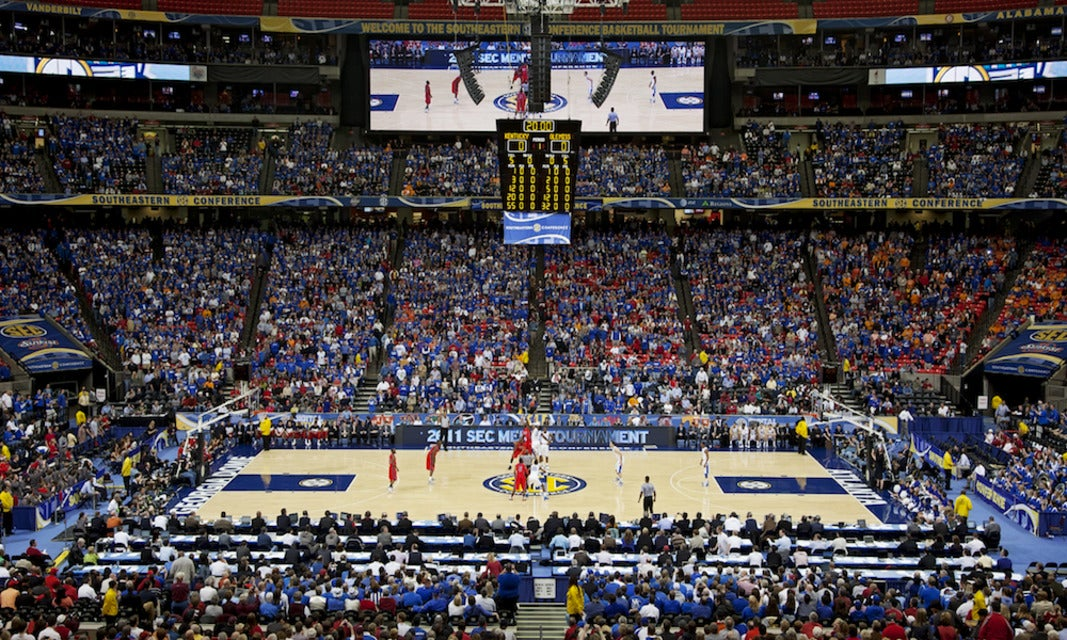 SEC Basketball Tournament Tickets