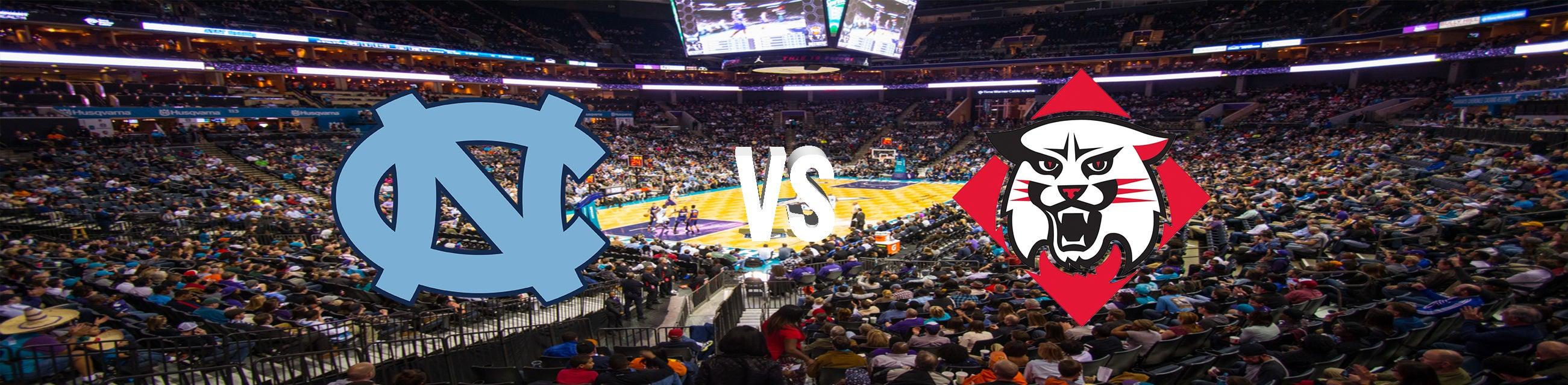 UNC vs Davidson Basketball Tickets