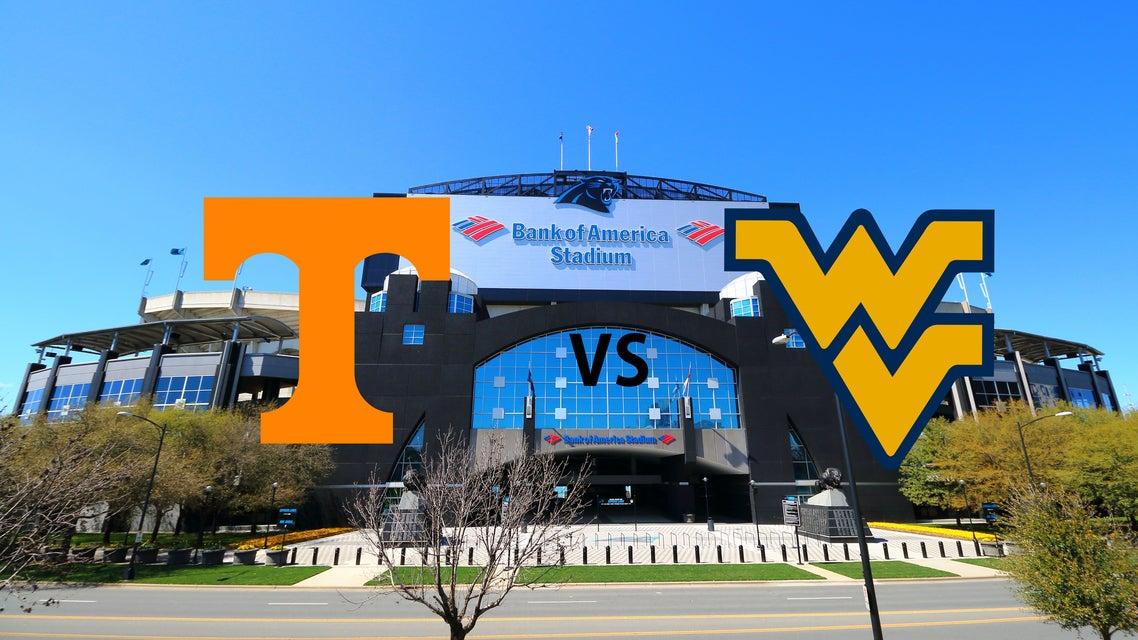 Tennessee vs WVU Tickets