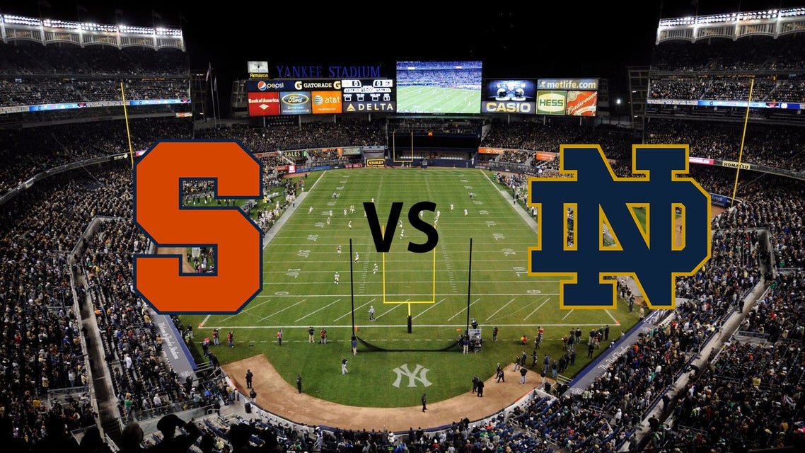 Syracuse vs Notre Dame Tickets