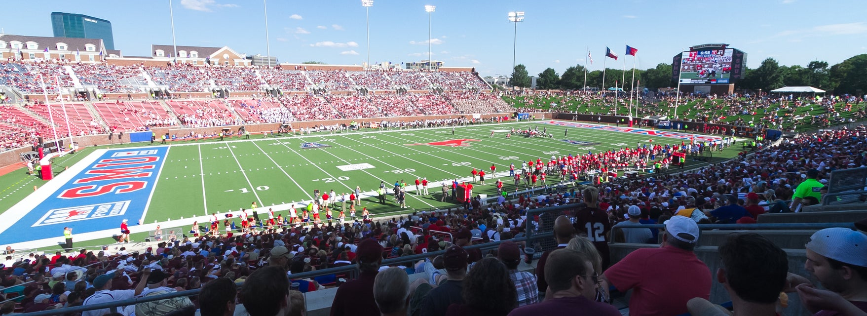 SMU Football Tickets