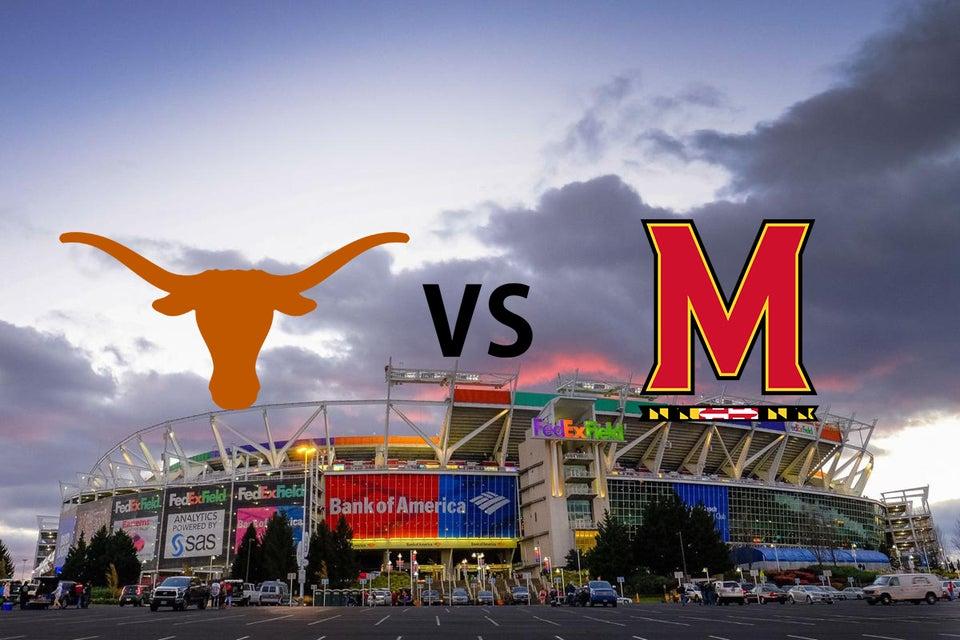 Maryland vs Texas Tickets