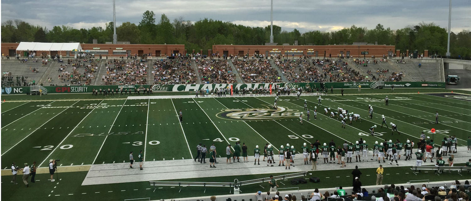 UNC Charlotte Football Tickets