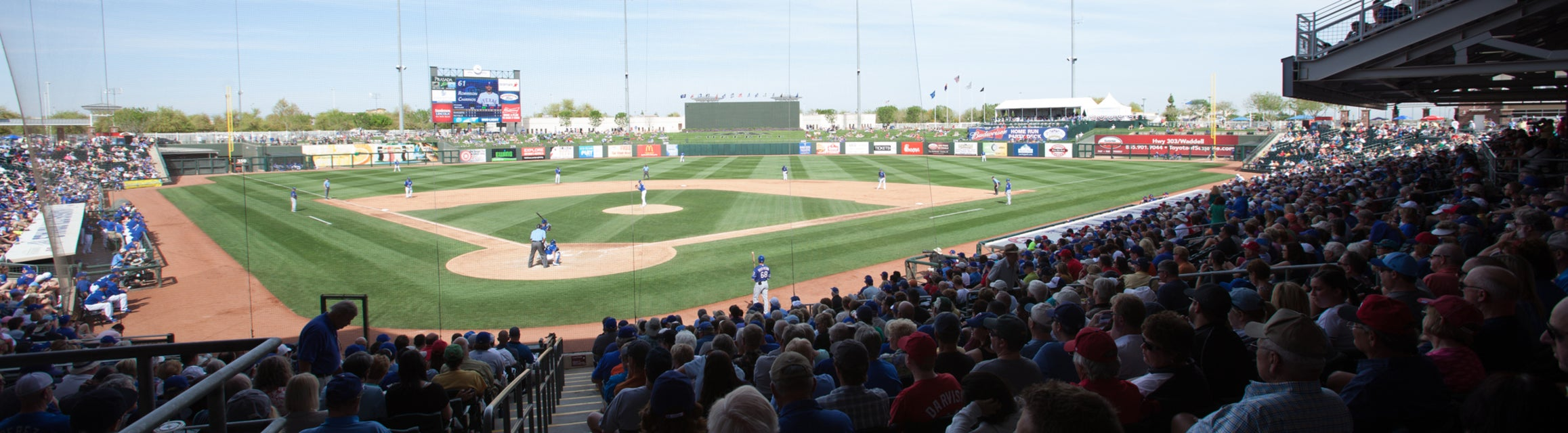 Rangers - Spring Training Tickets