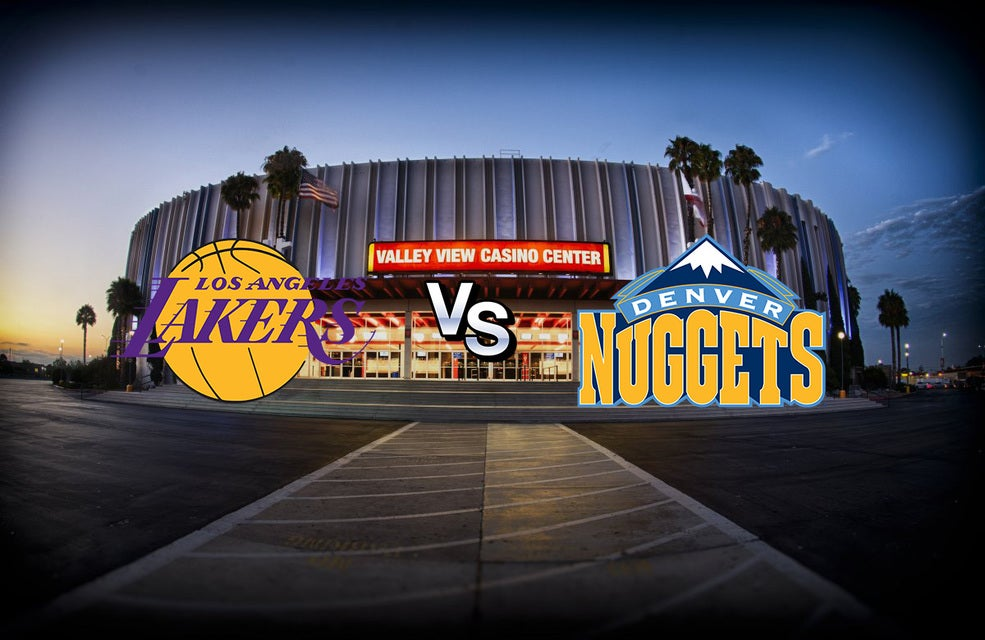 Lakers vs Nuggets @ Valley View Tickets