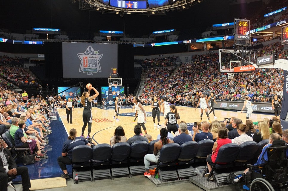 WNBA All Star Game Tickets