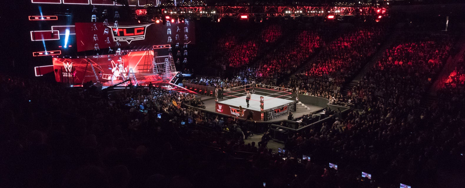 WWE Tables, Ladders and Chairs Tickets