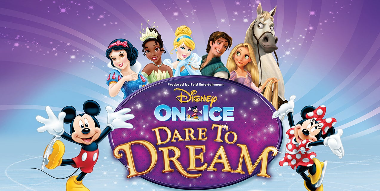 Disney On Ice: Dare to Dream Tickets