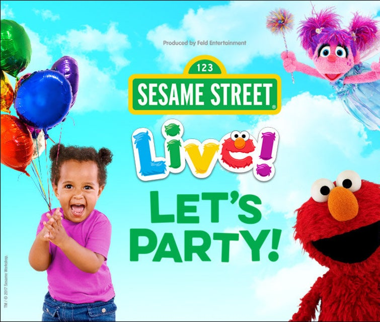 Sesame Street Live - Lets Party! Tickets